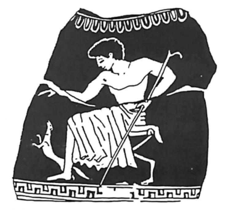 история, кошки, коты, ласки, Древняя Греция