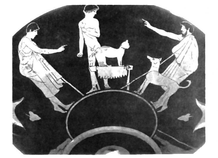 кошки, древняя Греция