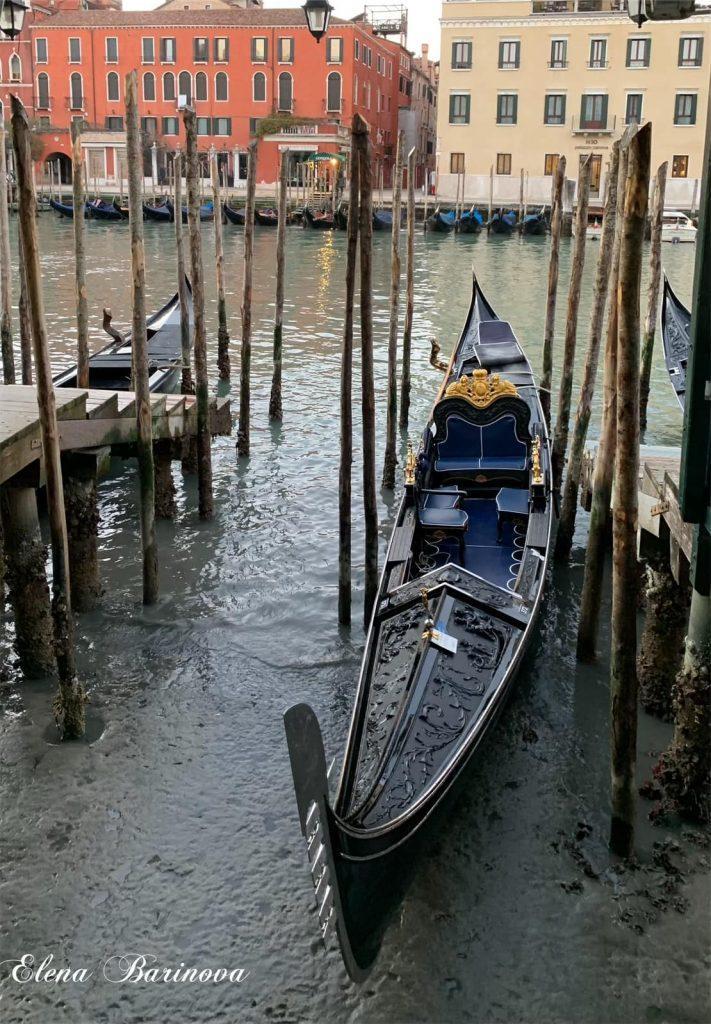 Каналы Венеции, гондола, Гранд канал