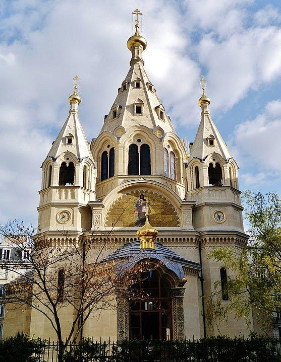 Христианские святыни Парижа, церковь Александра Невского