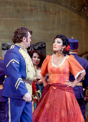 Швачка, Кармен, Национальная опера Украины