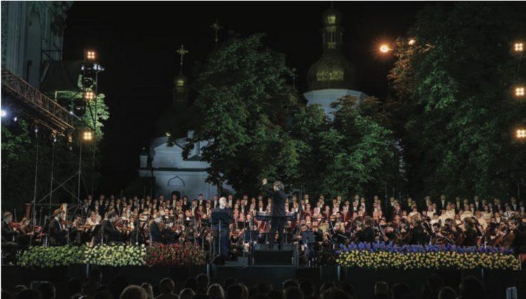 опера, Украина, Софийский собор, концерт