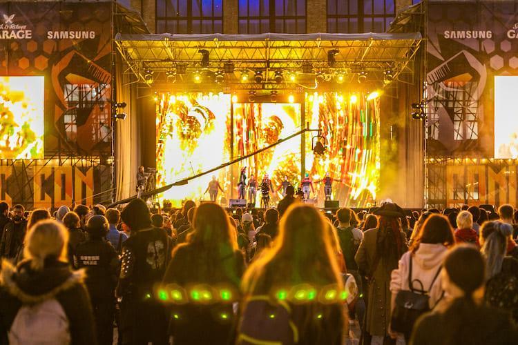 Comic Con Ukraine, сцена