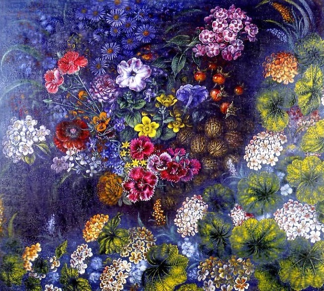 Катерина Билокур, художница, картина, цветы